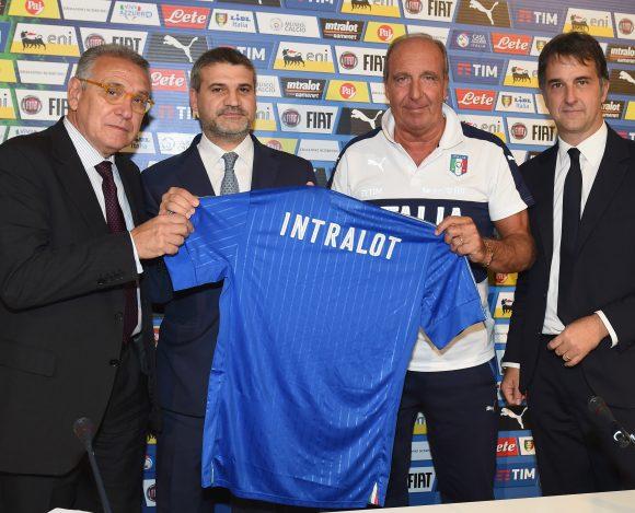 La Nazionale di calcio ha un nuovo sponsor … Intralot!